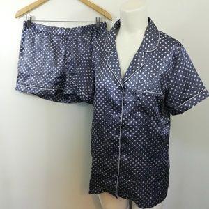 Chanteuse Shorts Pajama Set Size Medium Summer Dia